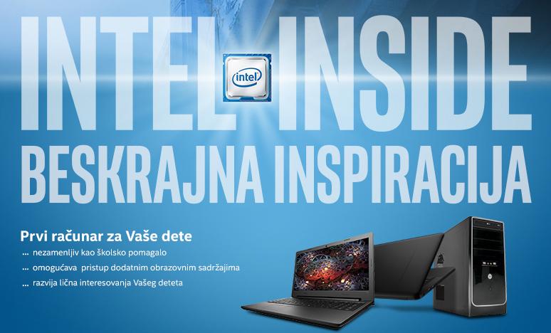 Gigatron Akcije Intel inside beskrajna inspiracija